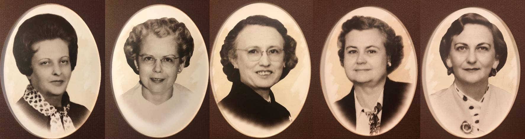 Photographs of NAWIC founders